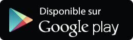 Disponible sur le Google PlayStore