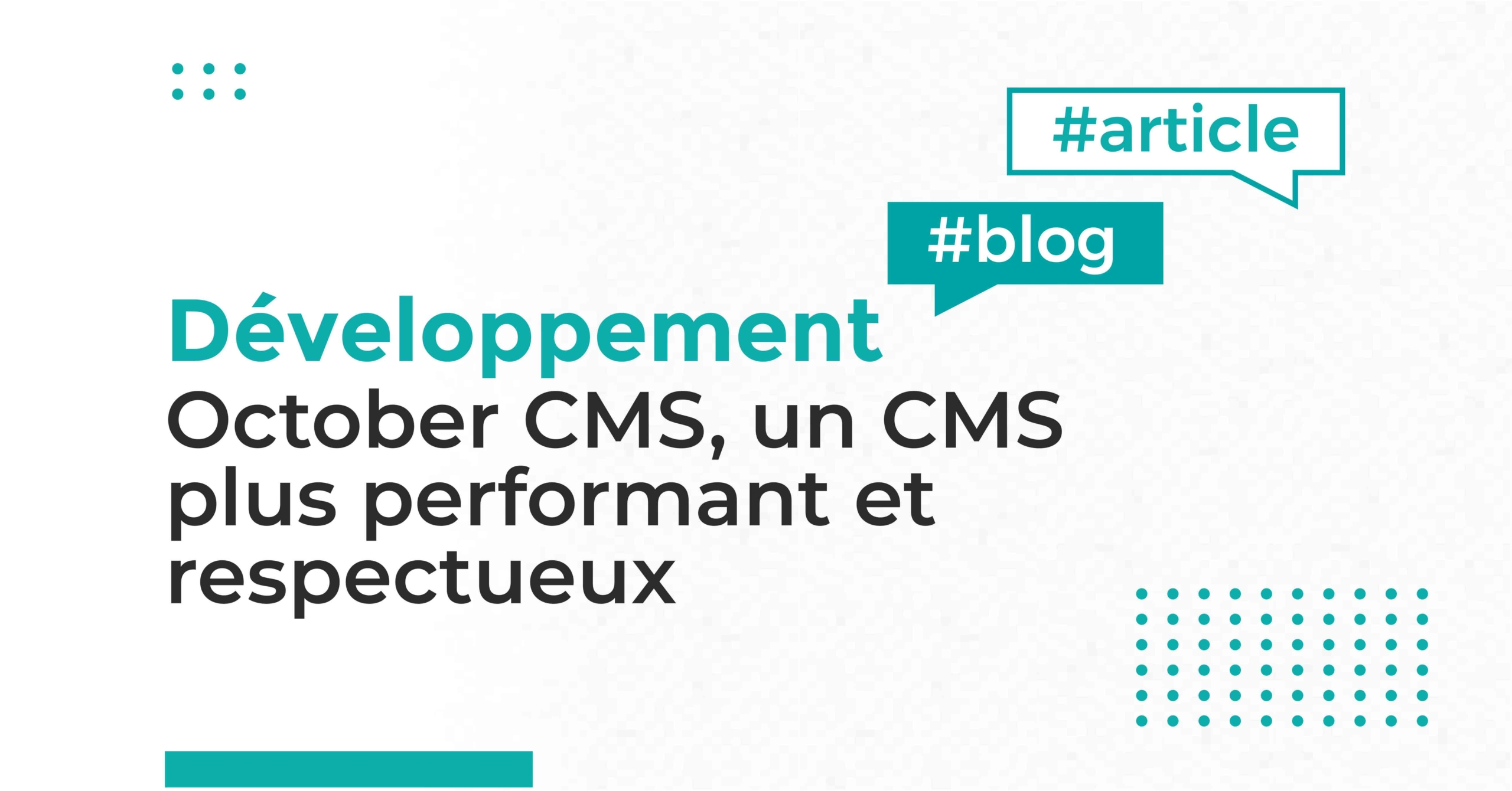 Article October CMS